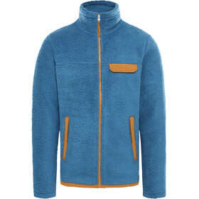 The North Face Cragmont Fleece Jacket Men mallard blue/timber tan